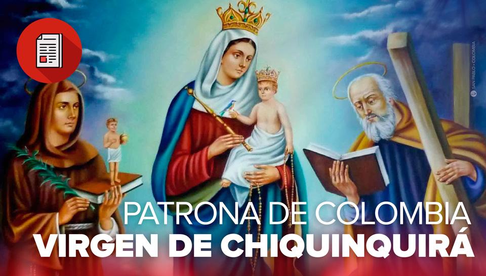 celebremos la fiesta de coronación a la virgen de chiquinquirá san